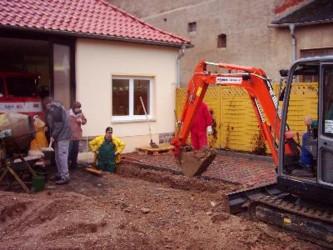Umbau Feuerwehrger Tehaus Und Anbau Der Fahrzeughalle