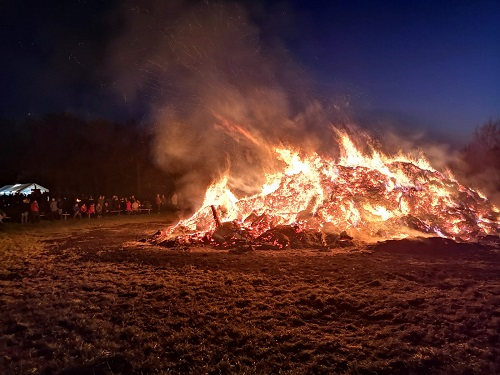 Foto: Osterfeuer 2019